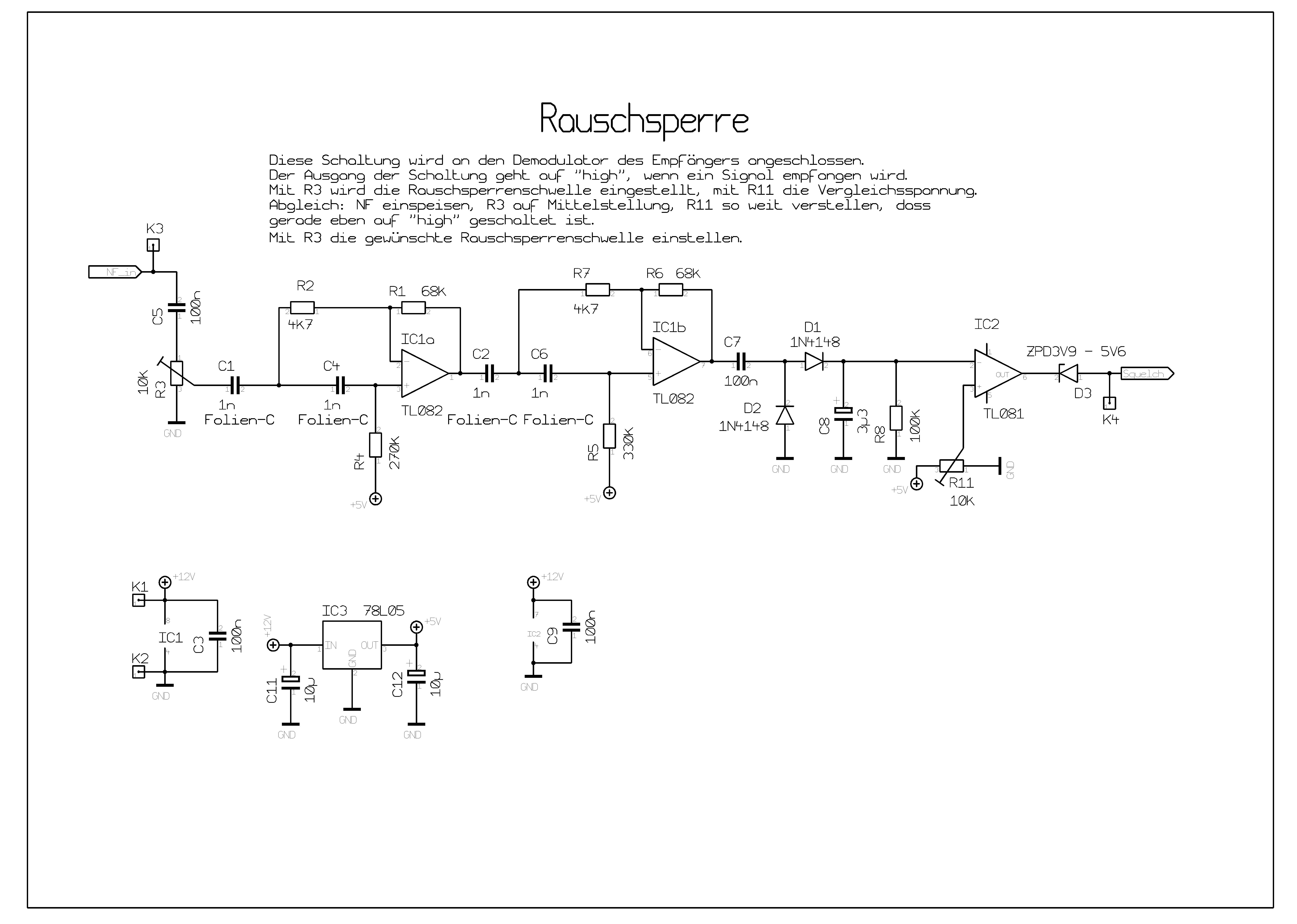 Echolink Controller Dtmf Decoder Circuit